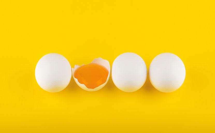 como baixar o colesterol - ovo